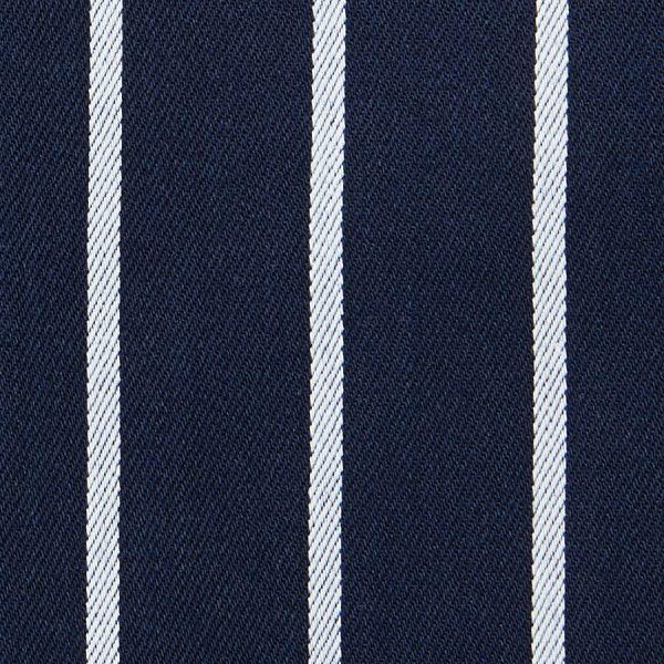 Bib Striped Apron With Pocket