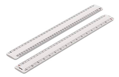Promotional Oval Scale Ruler 30cm