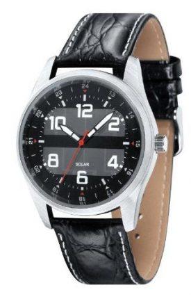 EU4059 Grus Mens Sports/Dress Watch with Solar Panel