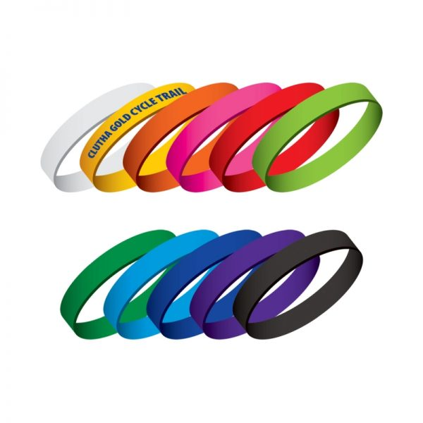Silicone Wrist Bands - 107101
