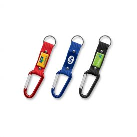 Promotional Carabiner Key Ring 107107