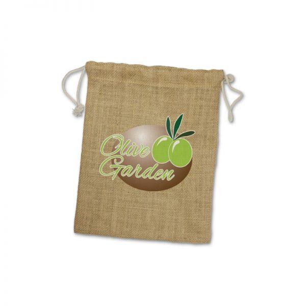 Jute Gift Bag Medium - 109069