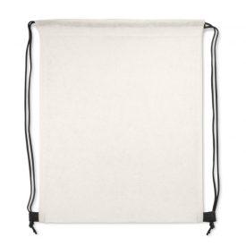 Promotional Tampa Drawstring Backpack 109882 White