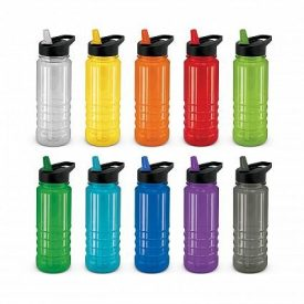 Triton Drink Bottle Black Lid 110747