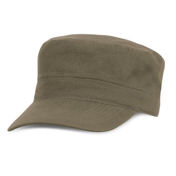 Promotional Scout Military Style Cap - 110842 Khaki