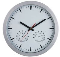 WCTR1 WALL CLOCK TEMP ROUND 254MM