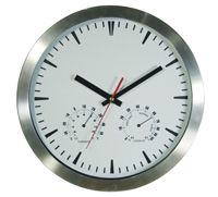WCATR2 WALL CLOCK ALUMINIUM TEMPERATURE ROUND 300MM
