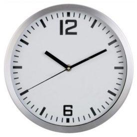 WCAR2 WALL CLOCK ALUMINIUM ROUND 300MM