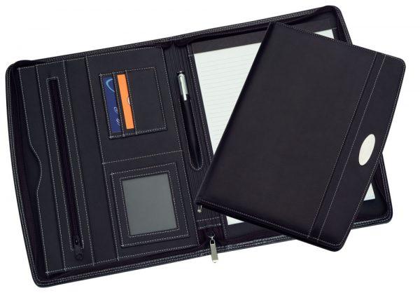 9105 A4 Zippered Compendium