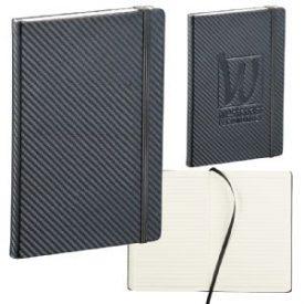 Promotional Ambassador Carbon Fibre 5 x 7 JournalBook™ 9135BK