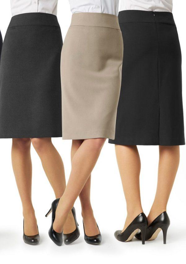 Ladies Classic Below Knee Skirt BS29323
