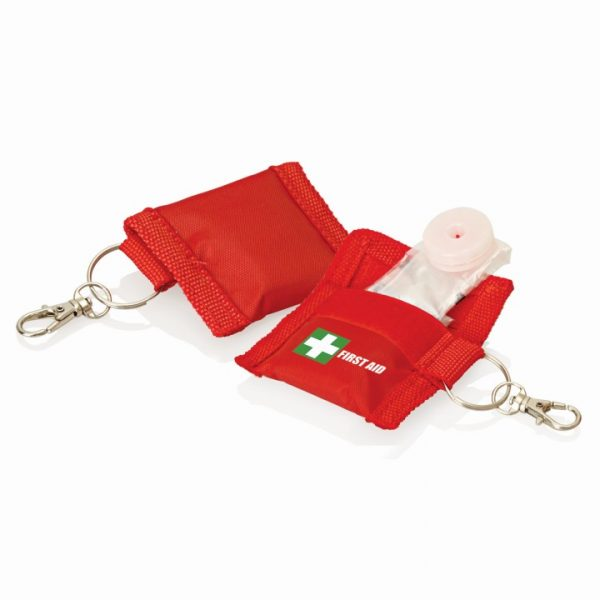 First Aid CPR Mask on Keyring -  FA110