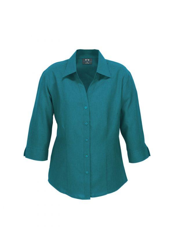 Ladies Plain Oasis 3/4 Sleeve Shirt LB3600