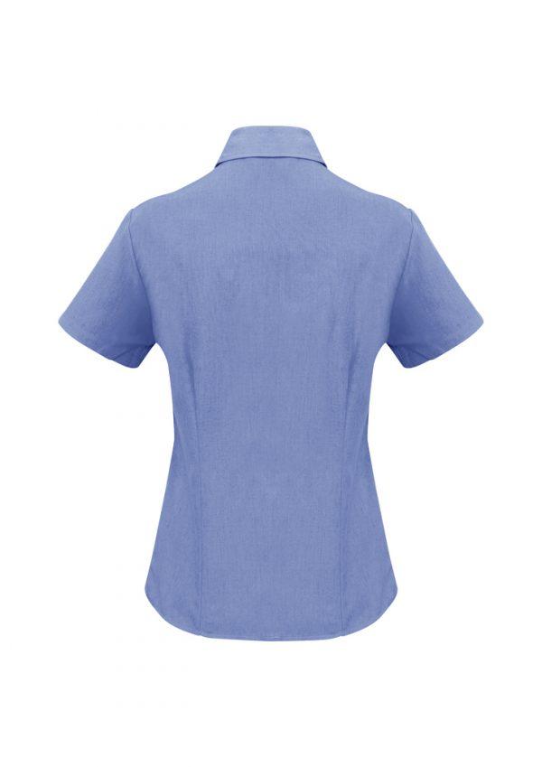 Ladies Plain Oasis Short Sleeve Shirt LB3601