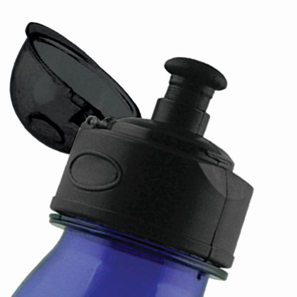 Wide Neck Plastic Drink Bottle w/Screw Top Lid - 700ml -  M224