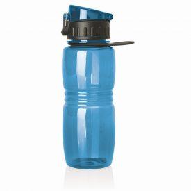 Polycarbonate Sports Bottle w/Flip Top - 600ml -  M226