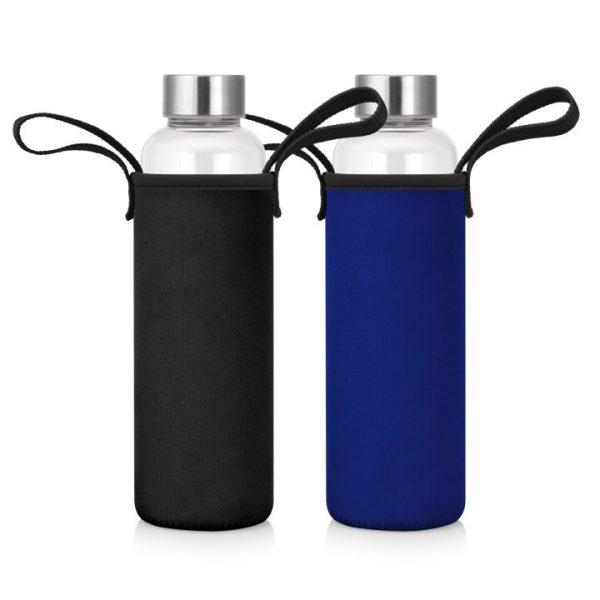 600mL Glass Drink Bottle w/Neoprene Sleeve -  M269