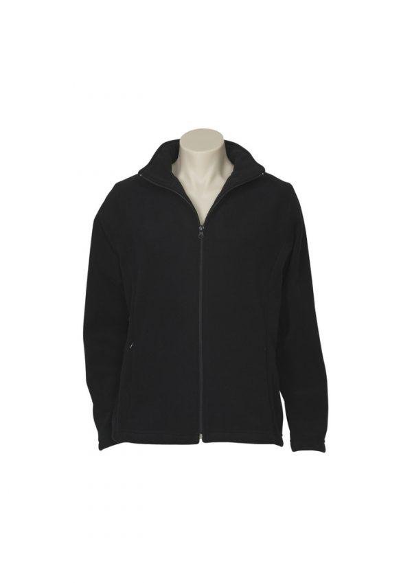 Ladies Plain Micro Fleece Jacket PF631