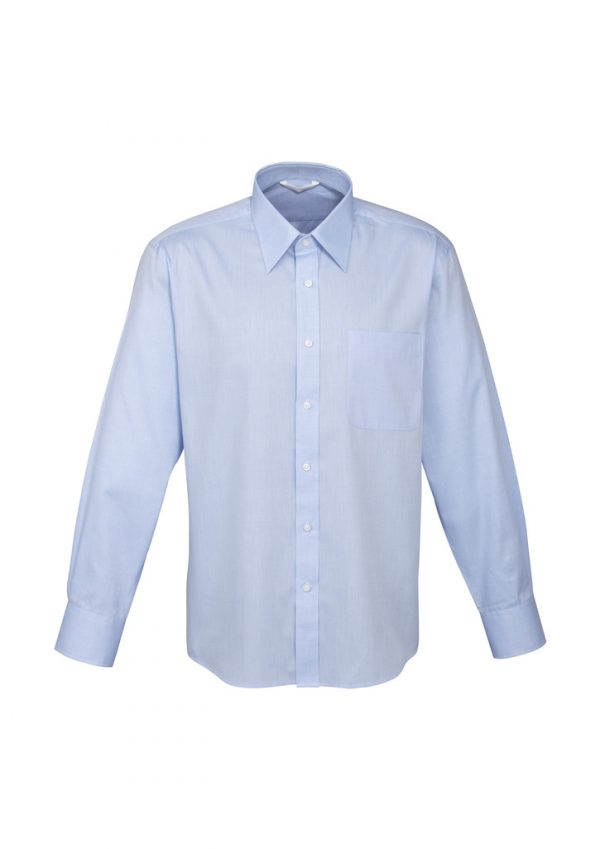Mens Luxe Long Sleeve Shirt S10210