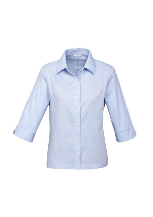 Ladies Luxe 3/4 Sleeve Shirt S10221