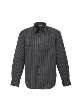 Mens Cuban Long Sleeve Shirt S10410