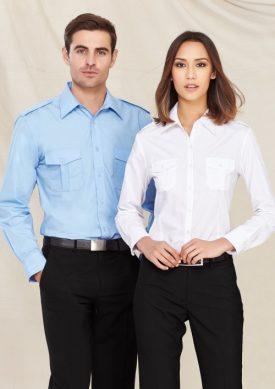 Mens Epaulette Short Sleeve Shirt S10712
