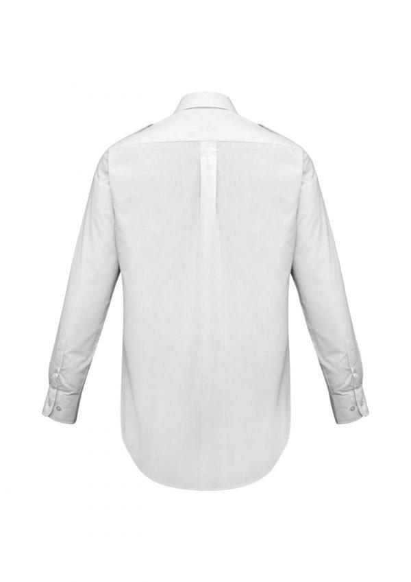 Mens Epaulette Long Sleeve Shirt S10710