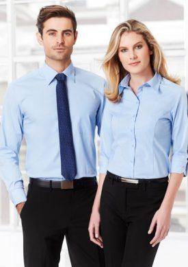 Ladies Chevron 3/4 Sleeve Shirt S122LT