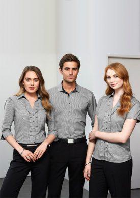 Ladies Edge Short Sleeve Shirt S267LS