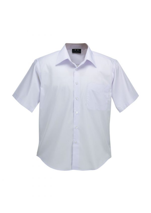 Mens Plain Oasis Short Sleeve Shirt SH3603