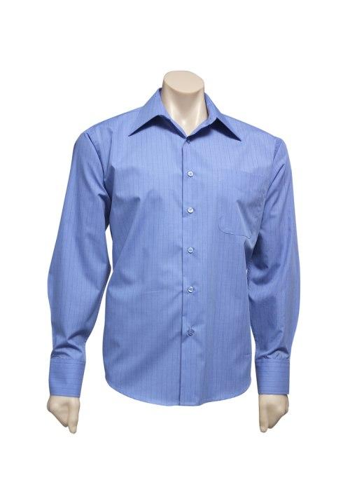 Mens Manhattan Long Sleeve Shirt SH840