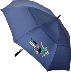 Deluxe Auto Golf Umbrella - U57 Blue