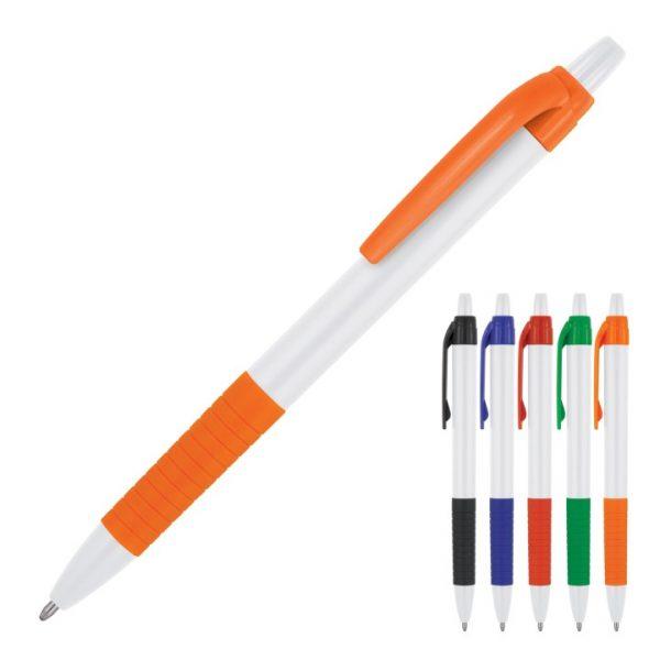 Zoey White Ballpoint Pen -  Z647