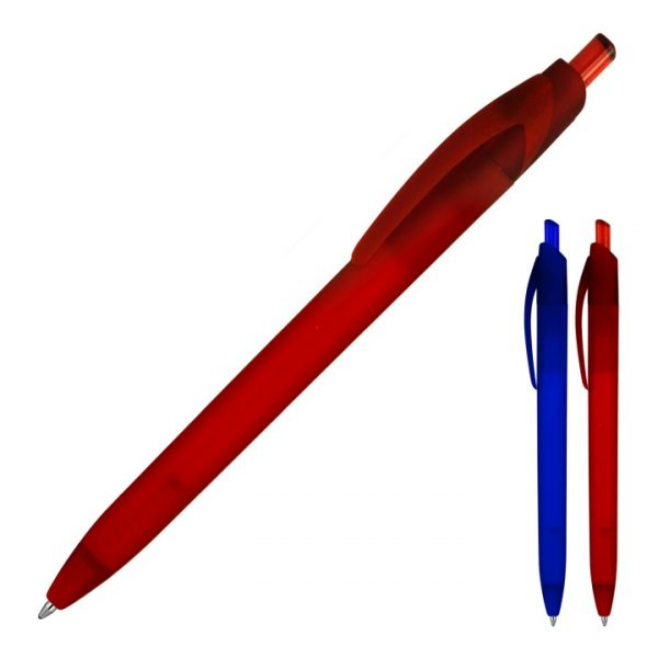 Nora Matte Rubber Frost Ballpoint Pen -  Z694