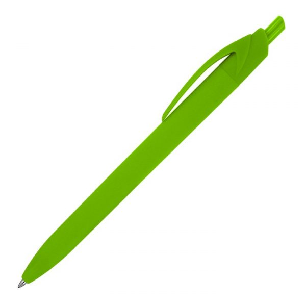 Mila Matte Rubber Ballpoint Pen -  Z695