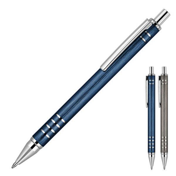 Gabriel Brushed Metal Ballpoint Pen -  Z702