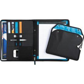 Zoom 2-In-1 Tech Sleeve Zip Padfolio ZM1002