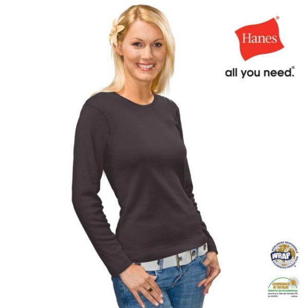 AU2140 Women's Beefy Long Sleeve T