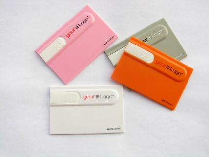 CC01 Credit Card Flash Drive 1