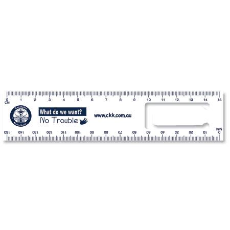 BRW2 Bookmark Rulers White