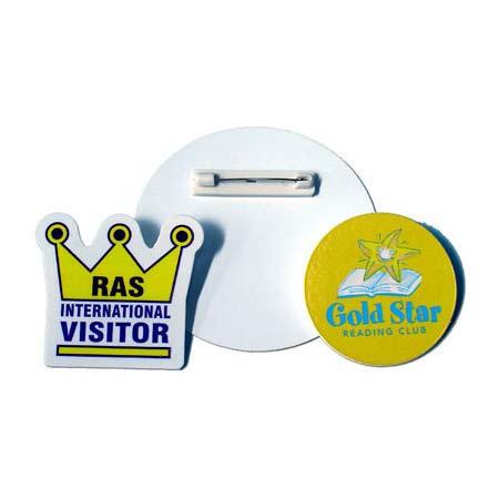 PBB1 Plastic Button Badges