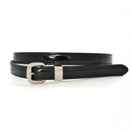 Printed CARRIE - Womens Genuine Leather Belt Black
