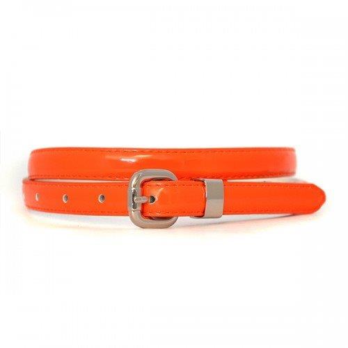 Promotional CARRIE - Womens Genuine Leather Belt Orange