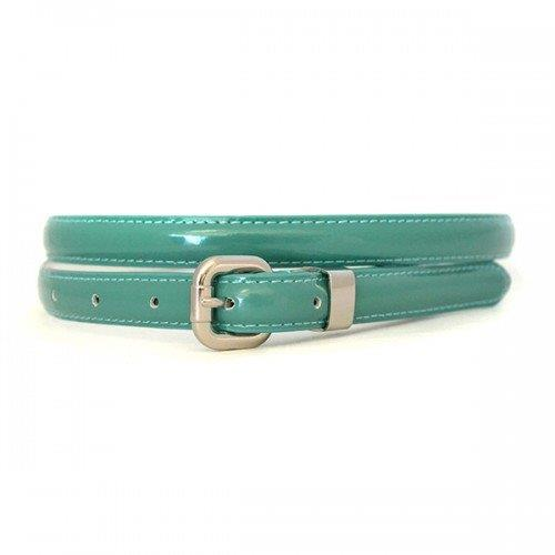 Promo CARRIE - Womens Genuine Leather Belt Sea Green