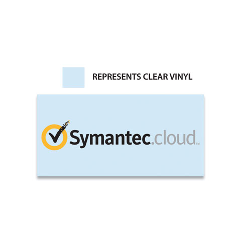 CVS1 Clear Vinyl Stickers