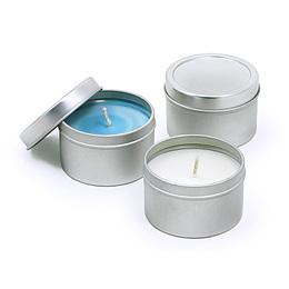 CT001-c Scented Large Travel Candle Tin