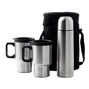 D355 Car Mug/vacuum Flask Set
