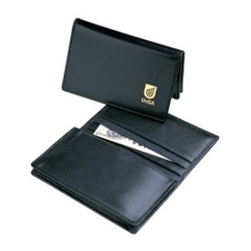 Leather Pocket Business Card Holder D516