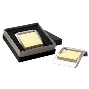 Icon Silver Note Holder D541