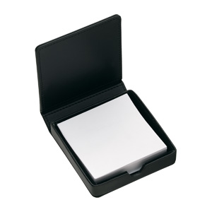 Leather Note Box with pad D543